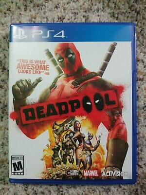 Deadpool (Sony PlayStation 4, 2015) PS4