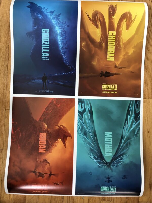 Godzilla King Of The Monsters Movie Poster 24x36