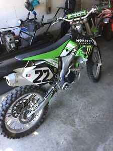 2007 Kawasaki KX250F for sale!