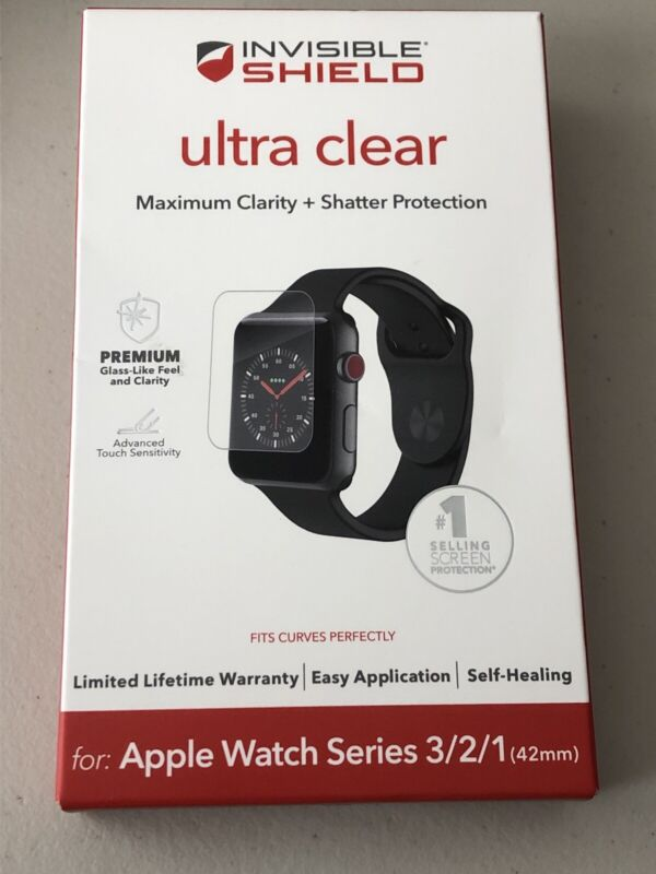 ZAGG - InvisibleShield Ultra Clear Screen Protector Apple Watch 42mm 1,2&3   Z52
