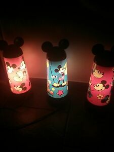 DISNEY MICKEY MOUSE LAMPS reduced Windsor Region Ontario image 2