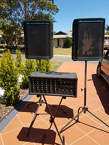 Peavey xr 600 pa band speaker amp system Victoria Point Redland Area Preview