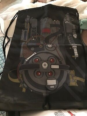 Ghostbusters Proton Pack Backpack Cinch Bag Loot Crate June 2018 New - Proton Pack Backpack