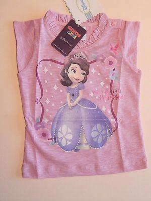 Baby Shirt Kurzarm süßes Motiv Disney Prinzessin Sofia Gr 80 86 92 Püttmann Prinzessin Sofia Disney
