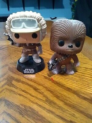 Funko Pop Star Wars Hoth Han Solo & Hoth Chewbacca Set