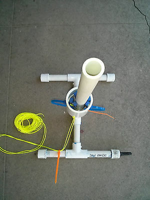 Rocket Launcher for Water and Soda Bottles Assembled Shoots 250+ ft in air! New