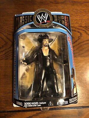 """WWE Jakks Pacific Classic Super Stars Series 13 LJN Style Undertaker 7"""" Figure!"""