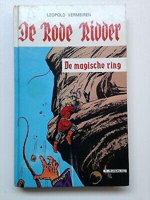 De rode ridder boek 49 - De magische ring - Karel Biddeloo - 1e druk (1981)