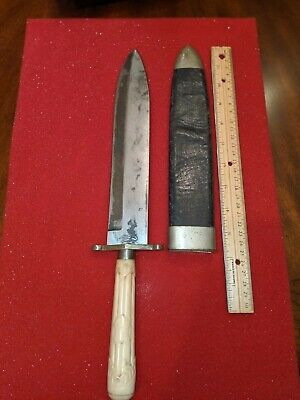 Antique Bowie Knife Fixed blade Sheffield