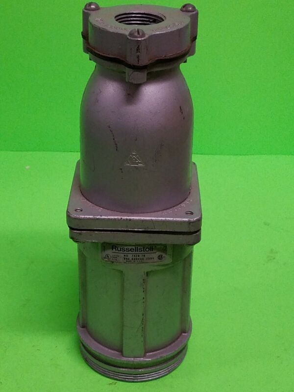 RUSSELLSTOLL PLUG 60AMP 250V//600VAC #7428-78 30 DAY WARRANTY FREE SHIPPING