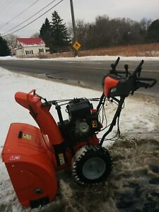 New HUSQUAVARNA snow blower $875.00
