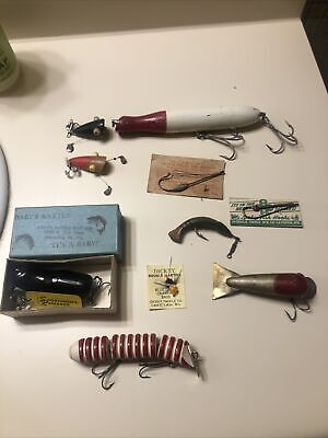 Antique Fishing Lures mostly Wisconsin