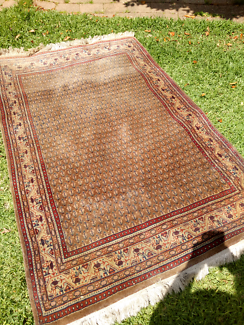 Brown Persian rug by Hali Carpets