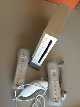 Wii console + 2 controllers + nunchuck + games Aldgate Adelaide Hills Preview