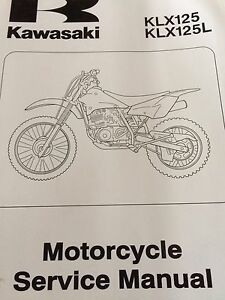 2003 Kawasaki KLX125 Service Manual