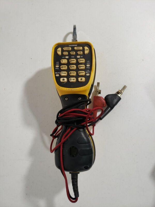 Harris Ts-44 Deluxe Linemans Butt Set Telephone Test Set
