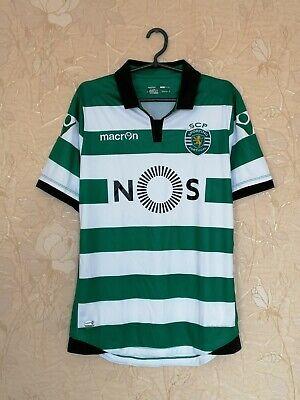 Sporting Club (Lisbon) 2016 football shirt jersey Macron size L image