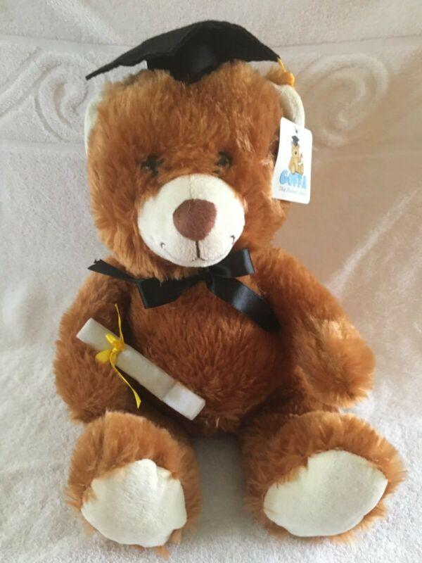 GOFFA THE PLUSHIEST CHOICE GRADUATION TEDDY BEAR NWT