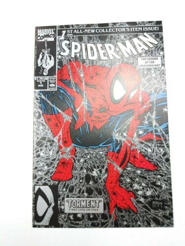 Spider-Man #1 Marvel 1990 Silver Todd McFarlane NM High Grade
