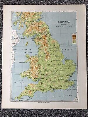 Historical Map- Britannia (44 X 32cm)