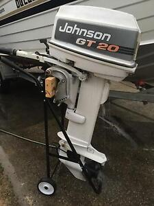 "Johnson GT20 longshaft 20"" tiller Forrestdale Armadale Area Preview"