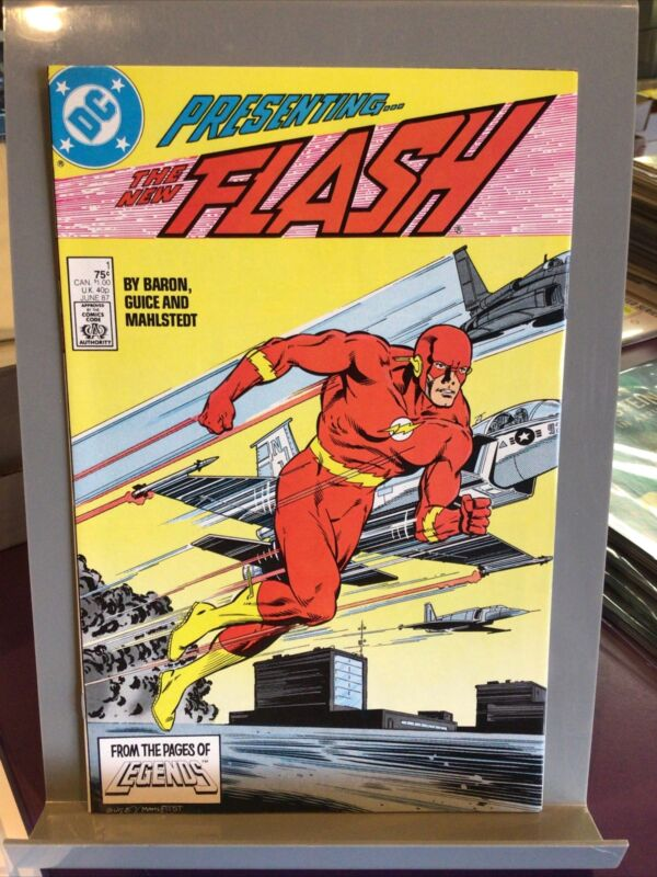 DC PRESENTING THE NEW FLASH #1 / 1987 HG / LEGENDS