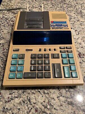 Swintec 4600DP Vintage Electronic Calculator Desktop Audit Tax Accountant CPA