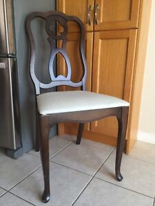 Four matching chairs