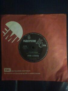 John Lennon 45 record