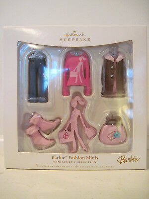 - Barbie Fashion Minis, Hallmark ornament, 2006, NRFB