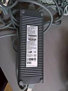 Xbox 360 (phat) power supply and AV cable Elwood Port Phillip Preview