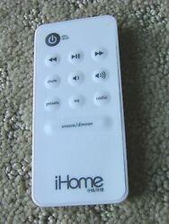 iHome Remote Control for iH6 & iH8 iPod Clock Radio Docking Station Speaker
