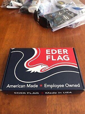 EDER FLAG 4x6 FT CALIFORNIA STATE CA FLAG SEALED IN BOX.  63.00 Retail