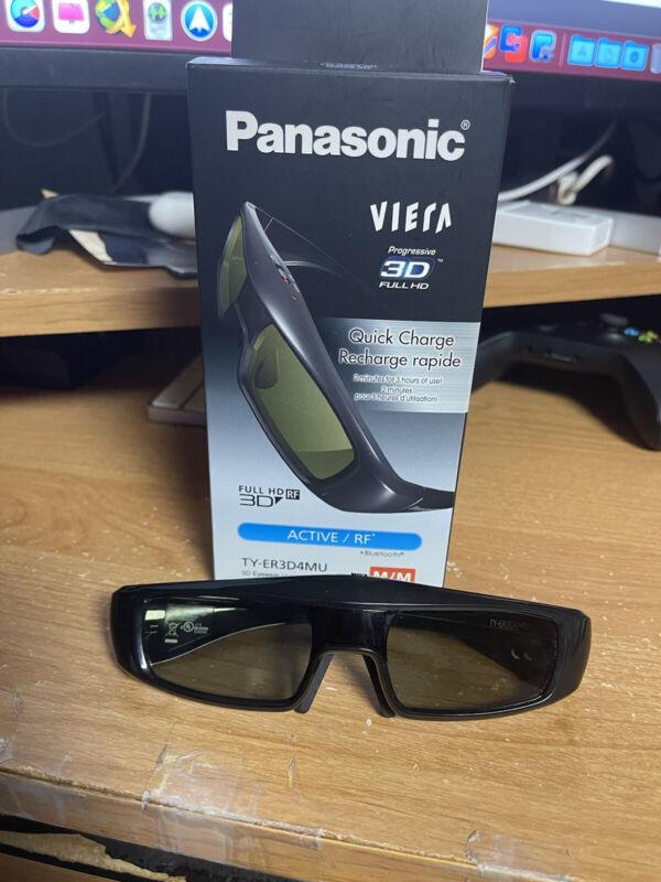 Panasonic Viera Progressive 3D glasses Full HD Quick Charge TY-ER3D4MU Medium