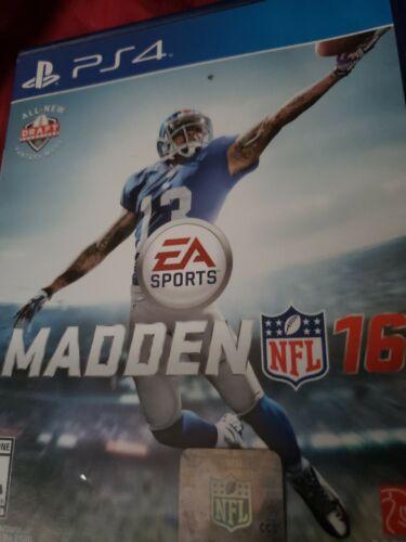 Madden NFL 16 Sony PlayStation 4, 2015  - $5.00