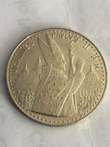 1983 Pope John Paul II Joannes Pavlvs II Vatican Silver Medal Coin RARE