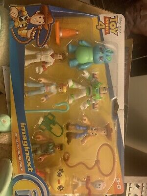 Fisher Price Disney Pixar Imaginext Toy Story 4 Deluxe Figure Pack Ages 3-8 NIP