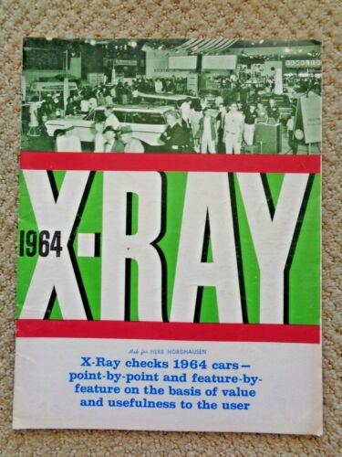 1964 X Ray Car Inspection American Motors Rambler Mercury Comet Dodge Dart Chevy