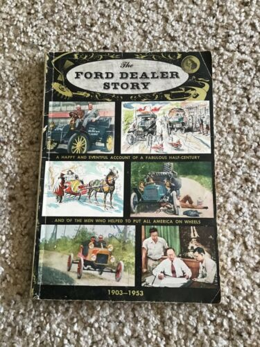 1953  Ford  Dealer Story, promotional  softbound book.