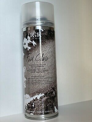 IGK First Class Charcoal Detox Dry Shampoo Deep Cleanse 6.3oz / 288ml