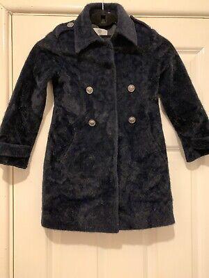 Girls Versace Virgin Wool Coat Age 5-6 MUST SEE