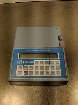 Hach Dr2010 49300-60 Portable Datalogging Spectrophotometer