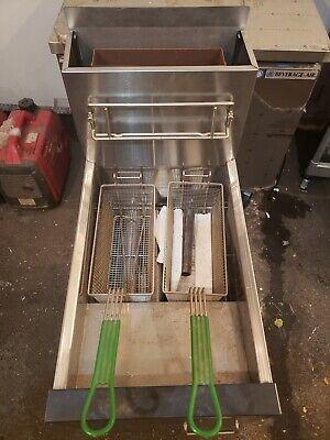 Dean Frymaster Gas Deep Fryer 105000 Btus Sr142gp