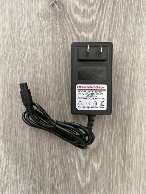 Official Replacement Charger For Swagtron T5 and T580 Hoverboard 29.4V Output 1A