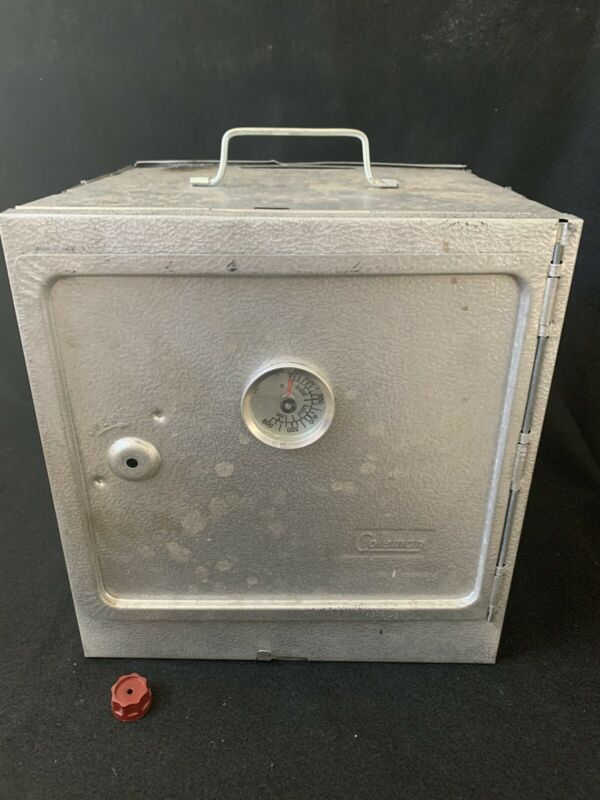 Vintage Coleman Folding & Collapsible Camp Oven Stove in Original Box 5010B700