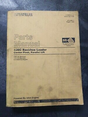 Cat Caterpillar 426c Backhoe Loader Center Pivot Parallel Lift Parts Manual...