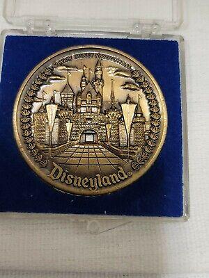 Walt Disney Disneyland Tomorrowland Fantasyland Main Street Coin Token