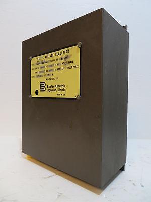 Basler Electric Static Voltage Regulator SR8A2B10B3AX SVR Module 120V 9060200126