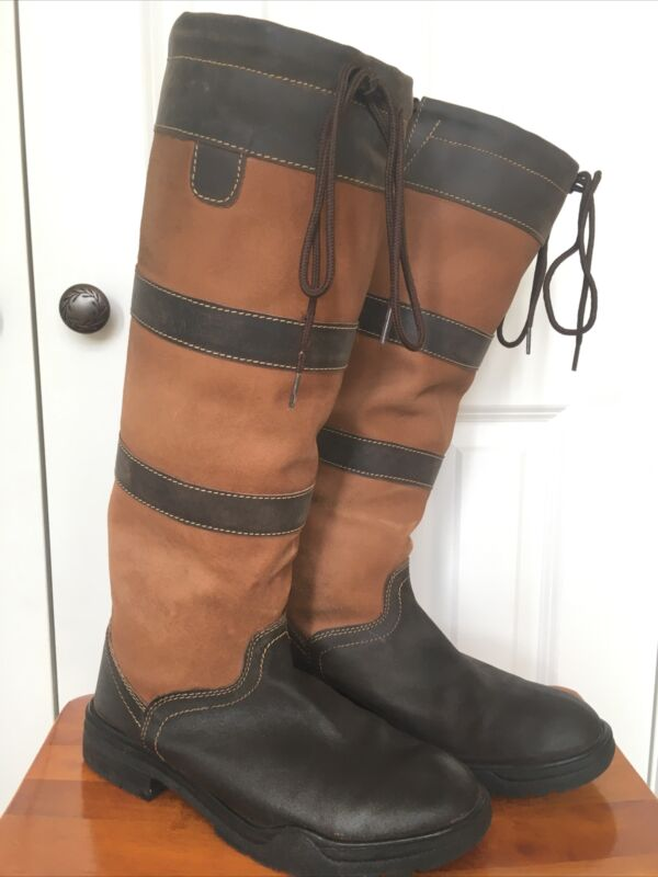 TuffRider Lexington Tall Country Boots, Men's Size 10