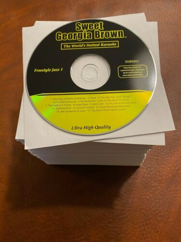 Karaoke Music CDG: Sweet Georgia Brown 68 CD+G Library Collection